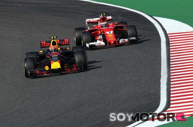 Max Verstappen, por delante de Kimi Räikkönen - SoyMotor,com