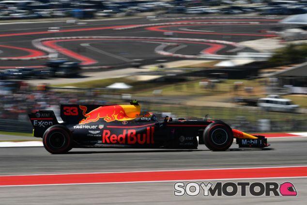 Verstappen en Austin - SoyMotor.com
