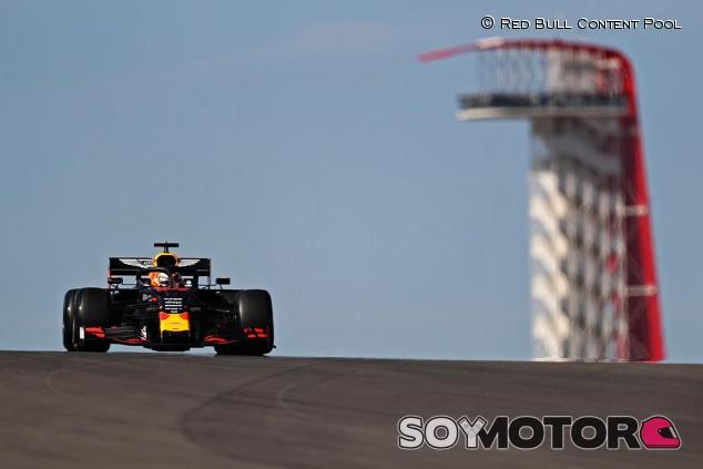 Max Verstappen en el GP de Estados Unidos F1 2019 - SoyMotor.com