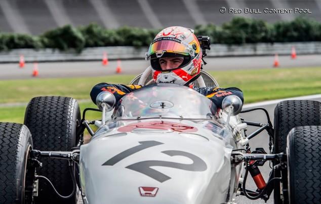 VÍDEO: Verstappen prueba el primer F1 ganador de Honda, el RA272  - SoyMotor.com