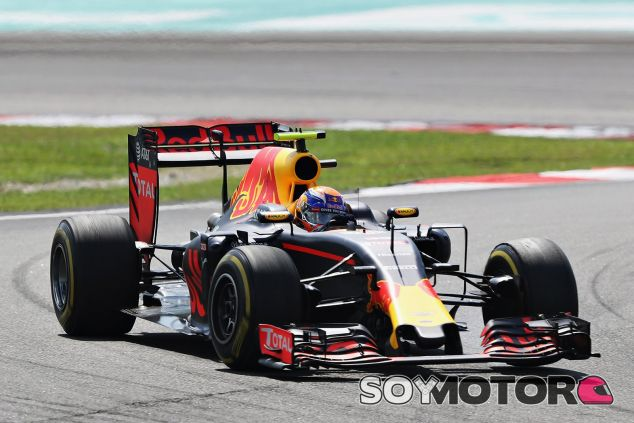 Verstappen terminó segundo - LaF1