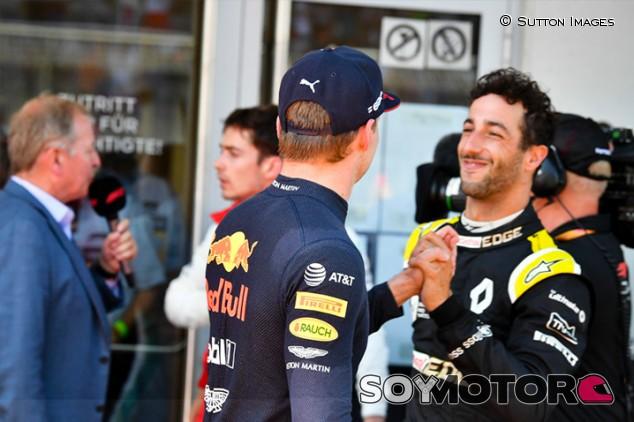 """Verstappen y su compañero ideal: """"Era Ricciardo"""" - SoyMotor.com"""