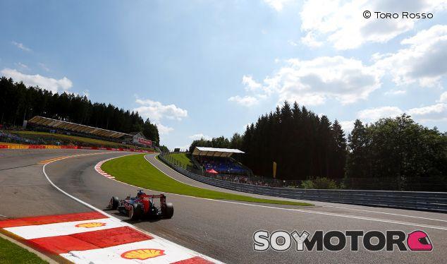 Max Verstappen en Bélgica - LaF1