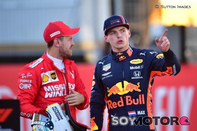 """Verstappen """"no tendría problema"""" en compartir equipo con Vettel - SoyMotor.com"""