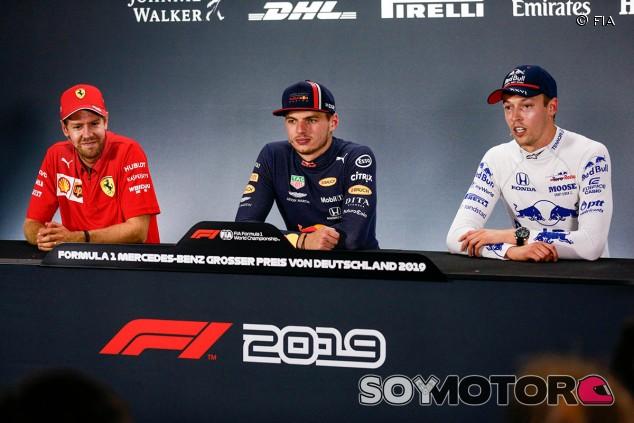 GP de Alemania F1 2019: Rueda de prensa del domingo - SoyMotor.com