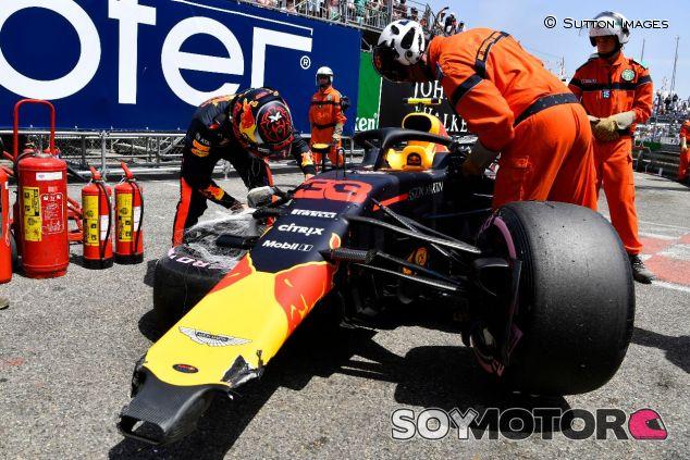 Accidente de Max Verstappen en Mónaco - SoyMotor.com