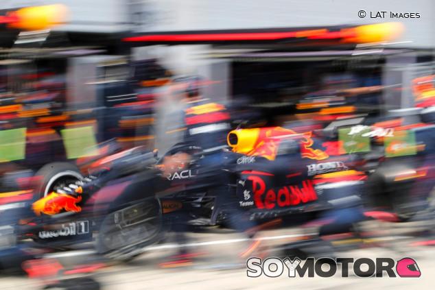 El consuelo de Red Bull en Hungría: la parada más rápida de la temporada - SoyMotor.com