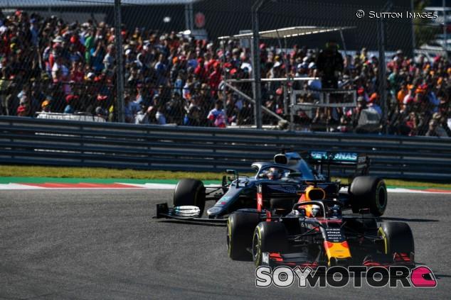 """Verstappen regresa al podio en Austin: """"Hemos hecho todo lo que hemos podido"""" - SoyMotor.com"""