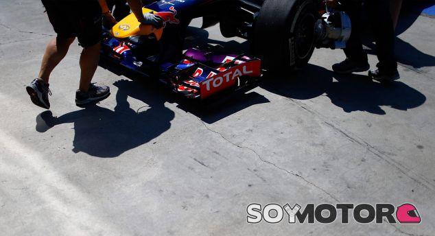 Detalle del Red Bull RB9