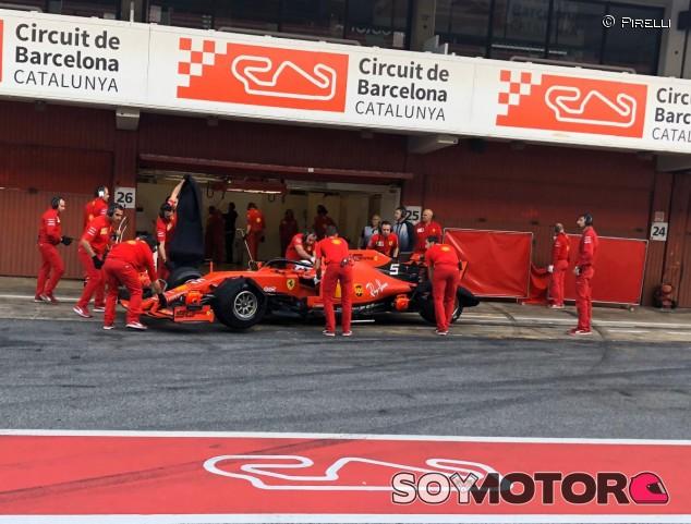 Sebastian Vettel en el Circuit de Barcelona-Catalunya - SoyMotor