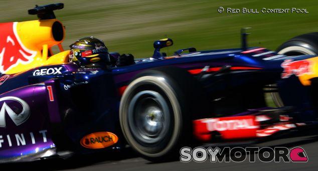 Sebastian Vettel en el GP de Alemania F1 2013