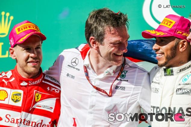 "Allison: ""No es fácil imaginar que Vettel pilotará para Mercedes"" - SoyMotor.com"