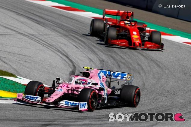 Sebastian Vettel y Lance Stroll en Austria - SoyMotor.com