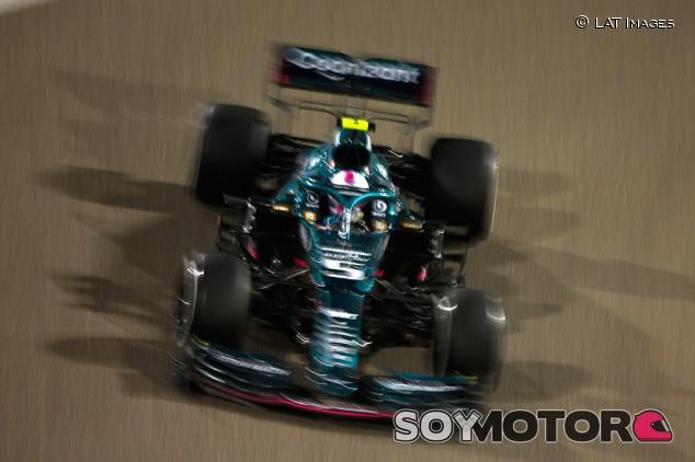 Vettel no se siente en casa en el Aston Martin - SoyMotor.com