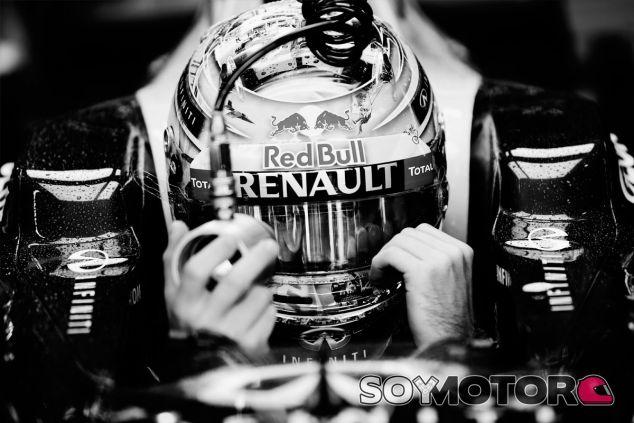 Sebastian Vettel durante el Gran Premio de Brasil - LaF1