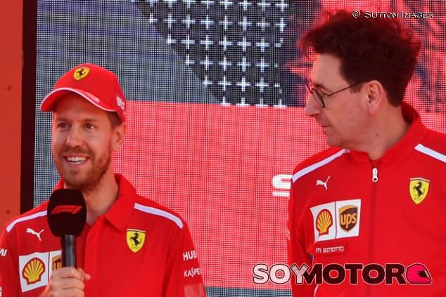 """Binotto: """"Vettel disfruta también cuando no gana, encontrar eso no es fácil"""" - SoyMotor.com"""