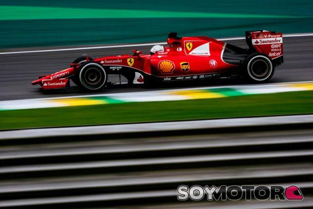 Vettel terminó a cinco décimas de Hamilton y a un segundo de Rosberg - LaF1