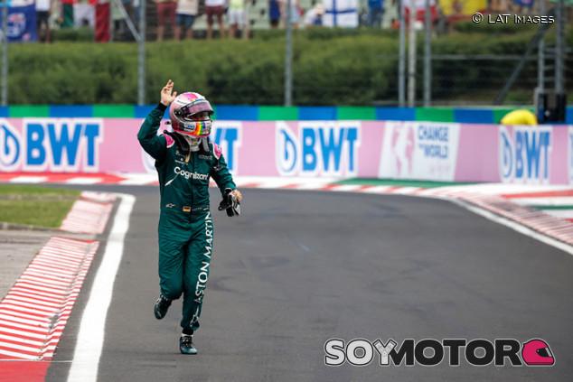 Vettel, descalificado de Hungría: Sainz hereda el podio - SoyMotor.com