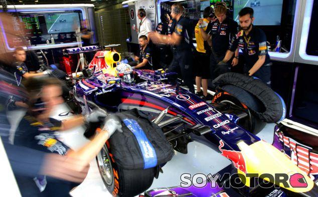 Vettel cambia el chasis de su RB10 - LaF1.es