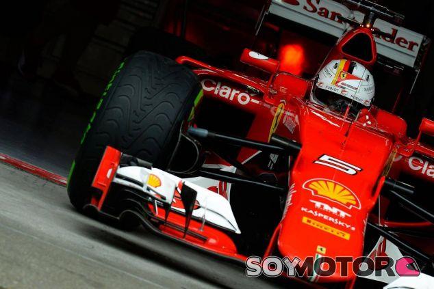 El Ferrari de Vettel pasó una inspección de combustible en Canadá - LaF1