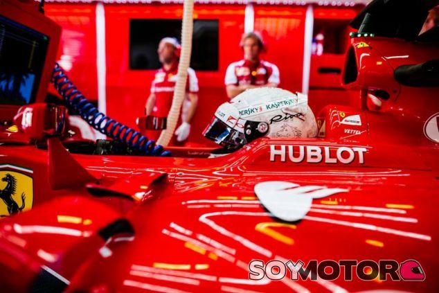 Vettel se queda fuera en la Q1 por un error de Ferrari - LaF1