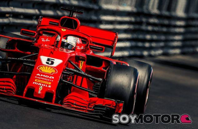 Sebastian Vettel en Mónaco - SoyMotor.com