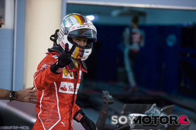 Sebastian Vettel en Baréin 2017 - SoyMotor