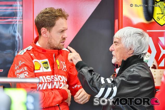 """Ecclestone: """"La verdad sobre la separación de Vettel y Ferrari debía salir"""" - SoyMotor.com"""