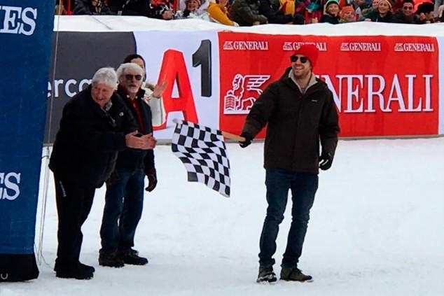 Vettel y Ecclestone, directores de la carrera que nunca se perdía Lauda  - SoyMotor.com
