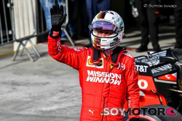 Sebastian Vettel en una imagen de archivo - SoyMotor.com