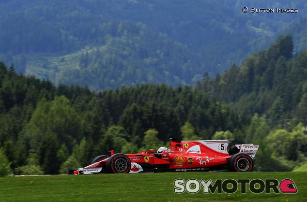 Sebastian Vettel en Austria - SoyMotor