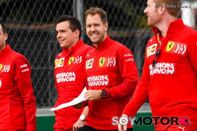 """Vettel: """"Correr para Ferrari sigue siendo un sueño"""" - SoyMotor.com"""