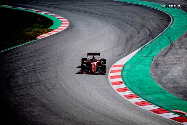 Descontento en Ferrari por los primeros datos de su coche de 2020 - SoyMotor.com