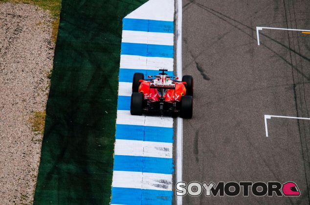 Vettel ha rodado frente a sus aficionados - LaF1
