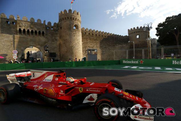 Ferrari en el GP de Azerbaiyán F1 2017: Viernes - SoyMotor.com
