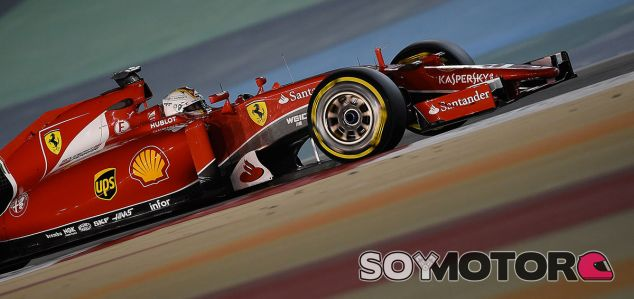 Sebastian Vettel en Baréin - LaF1