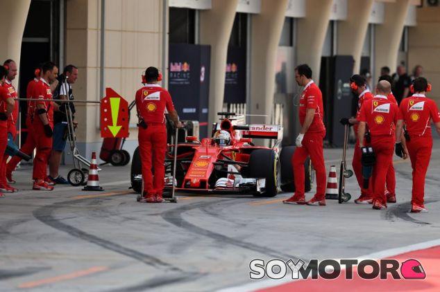 Vettel en los tests de Baréin - SoyMotor.com