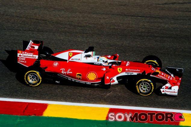 Vettel está en su segunda temporada con Ferrari - LaF1
