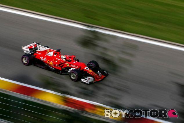Sebastian Vettel en Bélgica - SoyMotor