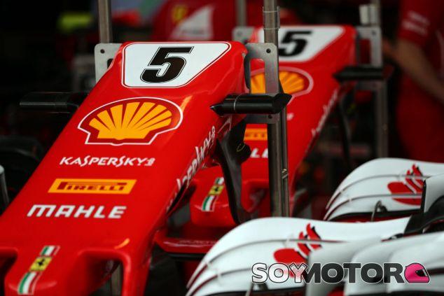 Morro del monoplaza de Sebastian Vettel en Brasil - SoyMotor.com