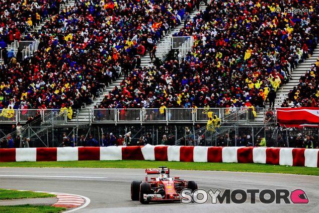 Sebastian Vettel en el GP de Canadá - SoyMotor