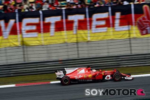 Vettel terminó segundo en China - SoyMotor
