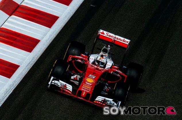 Vettel terminó tercero - SoyMotor