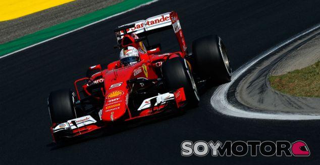 Sebastian Vettel, hoy en Hungría - LaF1