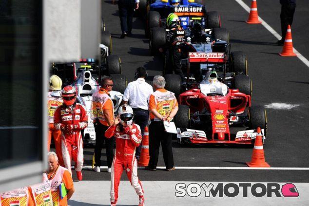 Vettel está muy molesto con la gestión del deporte - LaF1