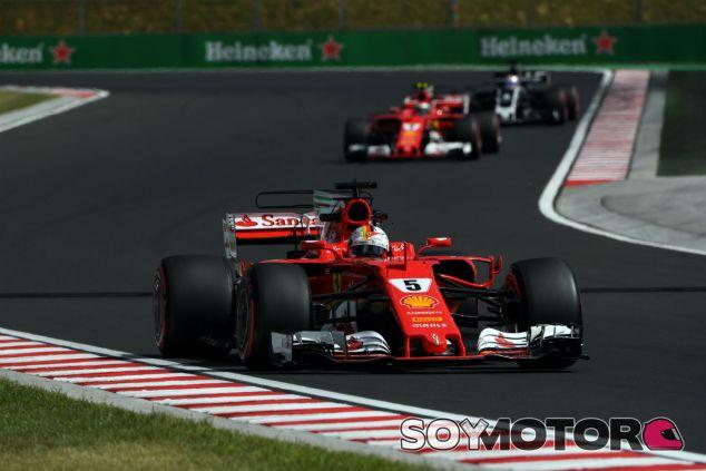 Ferrari en el GP de Hungría F1 2017: Viernes - SoyMotor.com