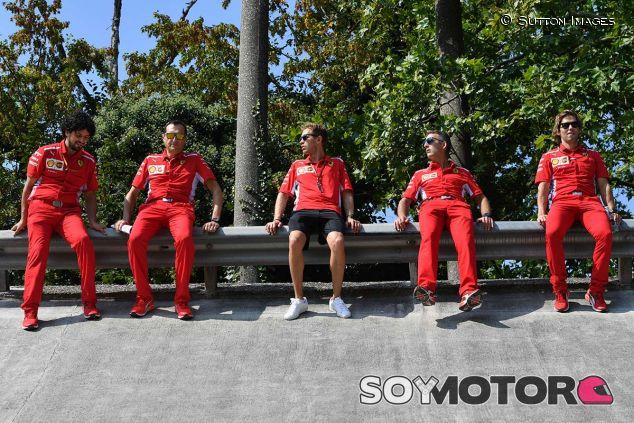 Sebastian Vettel en el óvalo de Monza - SoyMotor