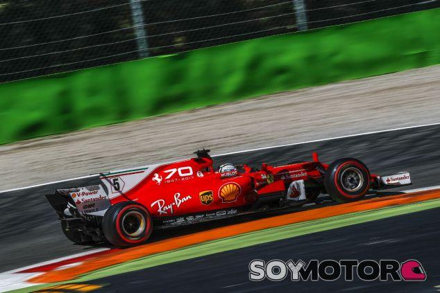 Vettel en Monza - SoyMotor.com