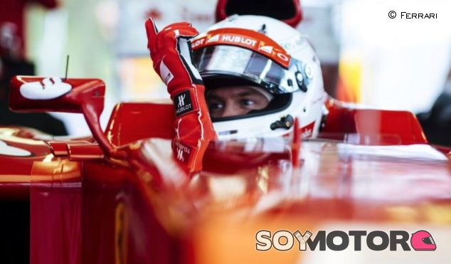 Sebastian Vettel en Fiorano con el F2012 - LaF1.es