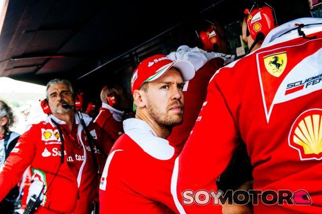 Vettel no está tan fuerte esta temporada como en 2015 - LaF1